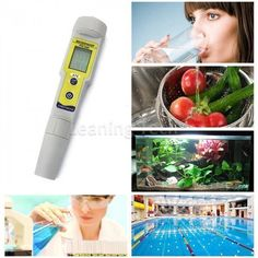Digital Lcd Ph Meter Soil Aquarium Pool Water Quality Urine Pen Tester Analyzer