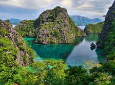It's no wonder Palawan ranked as the most beautiful island in the world this year, as the clear aquamarine water, limestone cliffs, and lagoons of the island province of the Philippines are only the most basic highlights. Palawan is also home to nature reserves on both land and sea, with dolphins just offshore, marine gardens of giant clam, sea turtles nesting on white sand beaches, 600 species of butterflies, and lush palm forest like a Gilligan's Island fever dream. —Cynthia Drescher