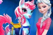 Elsa Pony Caring
