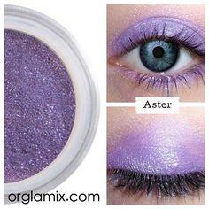 orglamix Aster Eyeshadow Pressed Color Concentrate  $18  #CrueltyFree  #Vegan