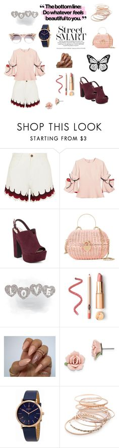 """feels"" by cristhyne-torres on Polyvore featuring moda, Chloé, Roksanda, Chanel, 1928, DKNY, Red Camel e Jimmy Choo"