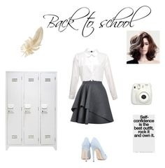 """Back to school"" by justnika on Polyvore featuring мода, Alexander McQueen и Dee Keller"