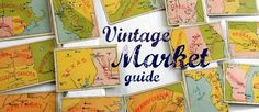 BLOG ON FLEA MARKETS ~Vintage Market Guide provides information about vintage markets, sales & shows throughout the United States.