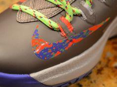 kevin durant shoes 2013 Nike KD V Splatter