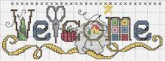MÁS PUNTO DE CRUZ: CUADROS ORIGINALES; free cross stitch charts of all kinds; good site to bookmark.