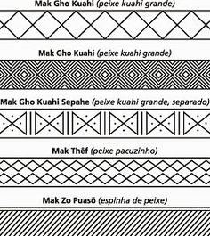 Arte no Blanco: Pintura Corporal Indígena - Grafismos                                                                                                                                                                                 Mais
