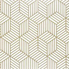 Hexagon  Wallpaper Self Adhesive - Hexagon Pattern / 5mx45cm