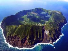 20 Fairy Tale Places You Must See - Aogashima, Japan