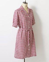 pindot/ホームクチュール/ワンピースそのまま着ても、重ねて着ても Japanese Sewing Patterns, Short Sleeve Dresses, Dresses With Sleeves, Wrap Dress, Couture, Shopping, Fashion, Moda, Sleeve Dresses