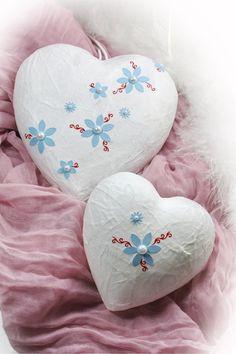 Leuchtende Herzen von Creativablue auf DaWanda.com