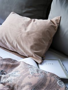 A must-have for the pillow lover! The velour in 100% cotton has a soft finish and a luxurious feel. The unique weaving method is characterized by the loops woven into the textile that are then cut. This creates the unique play of light and the soft feel that are the hallmarks of our velour. Scandinavian Bedroom, Bed Pillows, Pillow Cases, Weaving, Textiles, Luxury, Unique, Cotton, Play