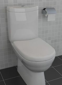 Lydia Short Projection Space Saving Toilet Including Soft Close Seat