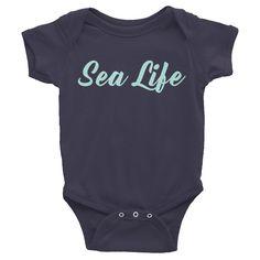 SEA LIFE Infant short sleeve one-piece