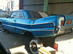 Before and after:Lowriders