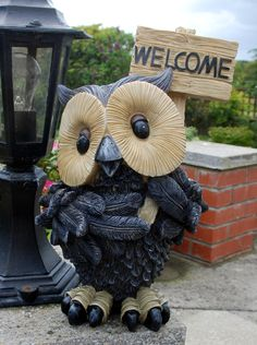 Welcome Owl - The English Owl Company