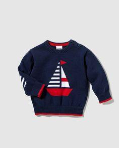 Baby Cardigan Knitting Pattern Free, Crochet Baby Jacket, Baby Boy Knitting Patterns, Knitting For Kids, Baby Knitting Patterns, Baby Boy Sweater, Knit Baby Sweaters, Knitted Baby Clothes, Boys Sweaters