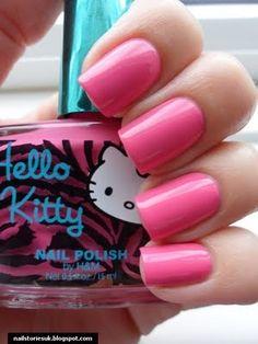 Hello Kitty nail polish