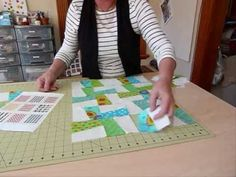 How to have Fun with Five Inch Squares - Let's do the Splits! - Quilting...
