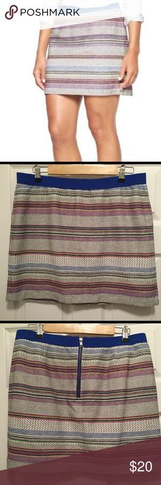 Gap tribal skirt size 12 Pair this super cute skirt with your favorite booties! Skirt is lightly used; no stains, no damages. 100% cotton. Smoke and pet free home. GAP Skirts Pencil