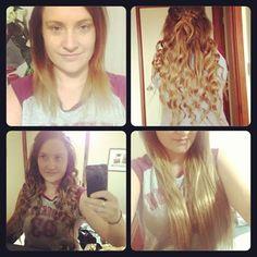 www.zalacliphairextensions.com.au  Ombre hair extensions Balayage hair extensions  By ZALA hair