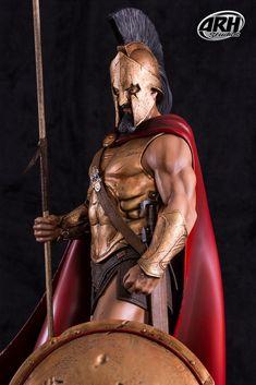 ARH Studios Leonidas Sparta, Dragon Ball, Greek Warrior, Harry Potter, Studios, The Witcher, Captain America, Iron Man, Naruto