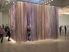 abstraction you can experience through touch (artist Jacob Dahlgren)