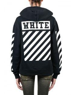 0d8e65f87fd1 Off-white c o virgil abloh Caravaggio Black Hoodie in Black