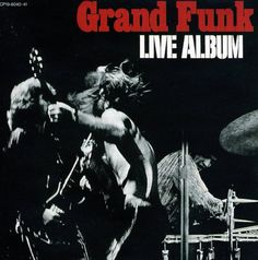Grand Funk Railroad, Live Album**** (1970): That pretty much nails it. Grand Funk Railroad is my favorite discovery of this project. Four great albums, and I haven't even gotten to some of their better known hits. And this live album just seals the deal for me. Great song selection. Nice, raw production like a live album should have. And it's even got some of the best concert banter captured on tape. Very cool album from a very cool band. (6/10/14)