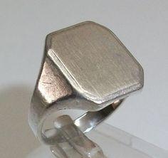 *Siegelring in 925er Silber*