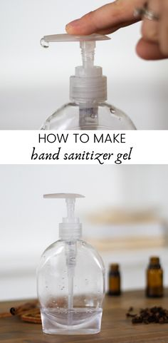 All-natural hand sanitizer gel is very simple to make and works effectively at killing germs, without the harsh chemicals found in conventional hand sanitizer. This DIY hand sanitizer gel only requires 4 ingredients and is safe for adults, kids, and babies. #handsanitizerrecipe #howtomakehandsanitizer #diyhandsanitizergel #homemadesanitizergel