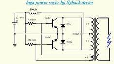 Dc Ac, Power Supply Circuit, Circuit Diagram, Nikola Tesla, High Voltage, Diy Electronics, Electronic Art, Iris, Electronic Circuit