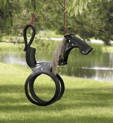 Recycled Tire Swing pony - includes detailed how to ~ okay we need like a dozen of these for The Block lol