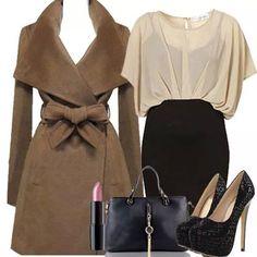 Outfit ideal para la oficina...