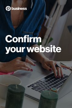 Once you confirm your website, you'll see your logo or profile picture on Pins people save from your site, and you'll get access to website analytics.