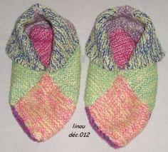 Mod le tricot chausson adulte gratuit chausson adulte - Echantillon gratuit de couche pour adulte ...