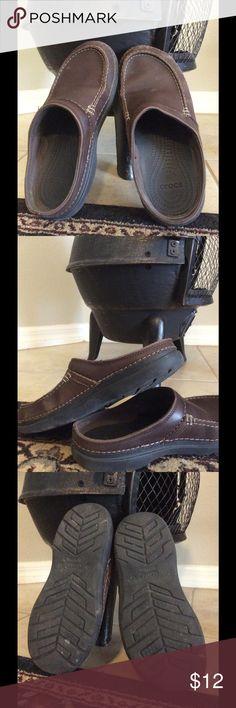 7efc6cd06598 🍁Crocs slide on shoes🍁 Waterproof Crocs. Worn