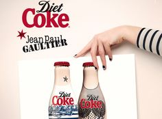 Diet Coke by Jean Paul Gaultier – The Limited Edition Bottles and TV Commercial