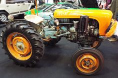 A Lamborghini tractor. Who wouldn't want to drive a Lamborghini?