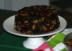 Learn how to make a Guinness cake recipe. This recipe for unbaked fruit cake needs to be made at least one week in advance. The longer it sets the more the flavor will go through it. Combine all ingredients and pack tightly in the container of your choice.