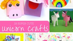 Super Cute Unicorn Crafts