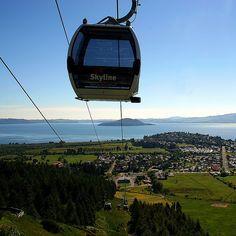 Rotorua gondola ride, New Zealand