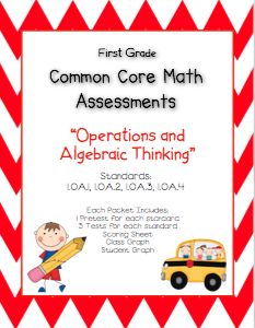 Primary Possibilities: Second & First Grade Common Core Math Assessments