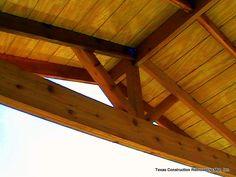 Cedar Gable Open Rafter Patio Cover Picture