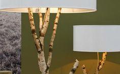 Лампа-дерево