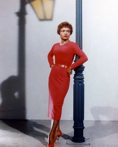 And while the media highlights the influence white women had on the style, women of color like Dorothy Dandridge, Eartha Kitt, and Rita Moreno also played a part in pinup style. Eartha Kitt Quotes, Us Actress, Dorothy Dandridge, Vintage Black Glamour, Julie Andrews, Barbra Streisand, Pin Up Style, White Women, Style Icons