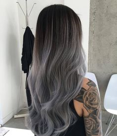 awesome Модное окрашивание омбре на длинные волосы (50 фото) — Покраска темных и светлых локонов Читай больше http://avrorra.com/okrashivanie-ombre-na-dlinnye-volosy-foto/