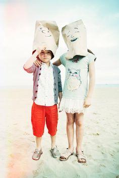 Le petit Nicolás en la playa! Raul Ruz for La petit mag