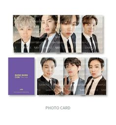 BTS BANG BANG CON THE LIVE OFFICIAL MD - PORTABLE CHARGER – COKODIVE