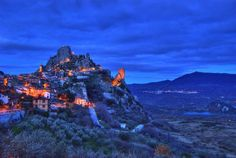 hill town in Italy