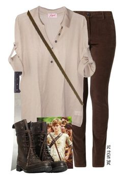 """Newt::the maze runner"" by jsigmon03 ❤ liked on Polyvore featuring MKT studio, Fogal, AllSaints, themazerunner and newt"